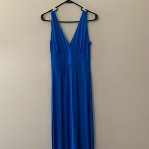 Royal Blue Maxi - Super Posh Feel - Size Small